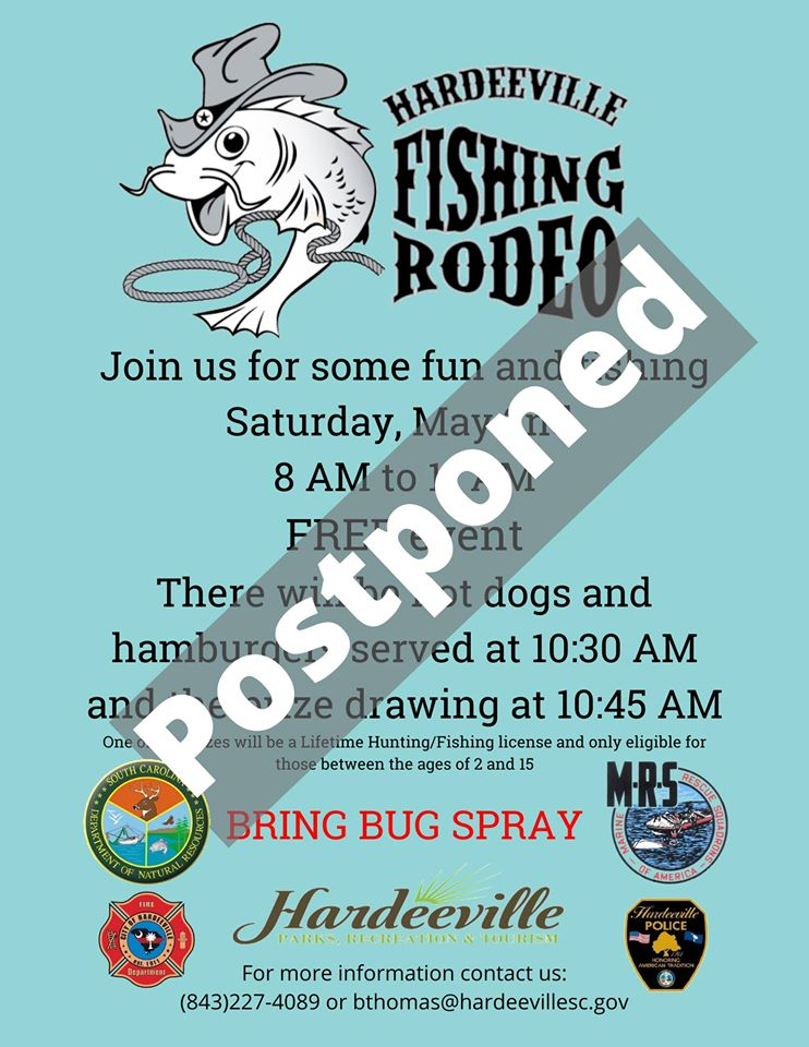fishing rodeo postponed
