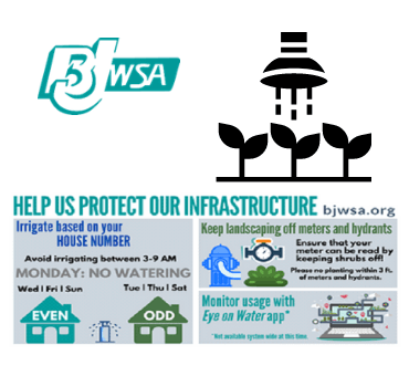 BJWSA- Help us protect our infrastructure
