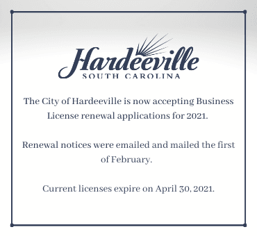 Business License Renewal Applications
