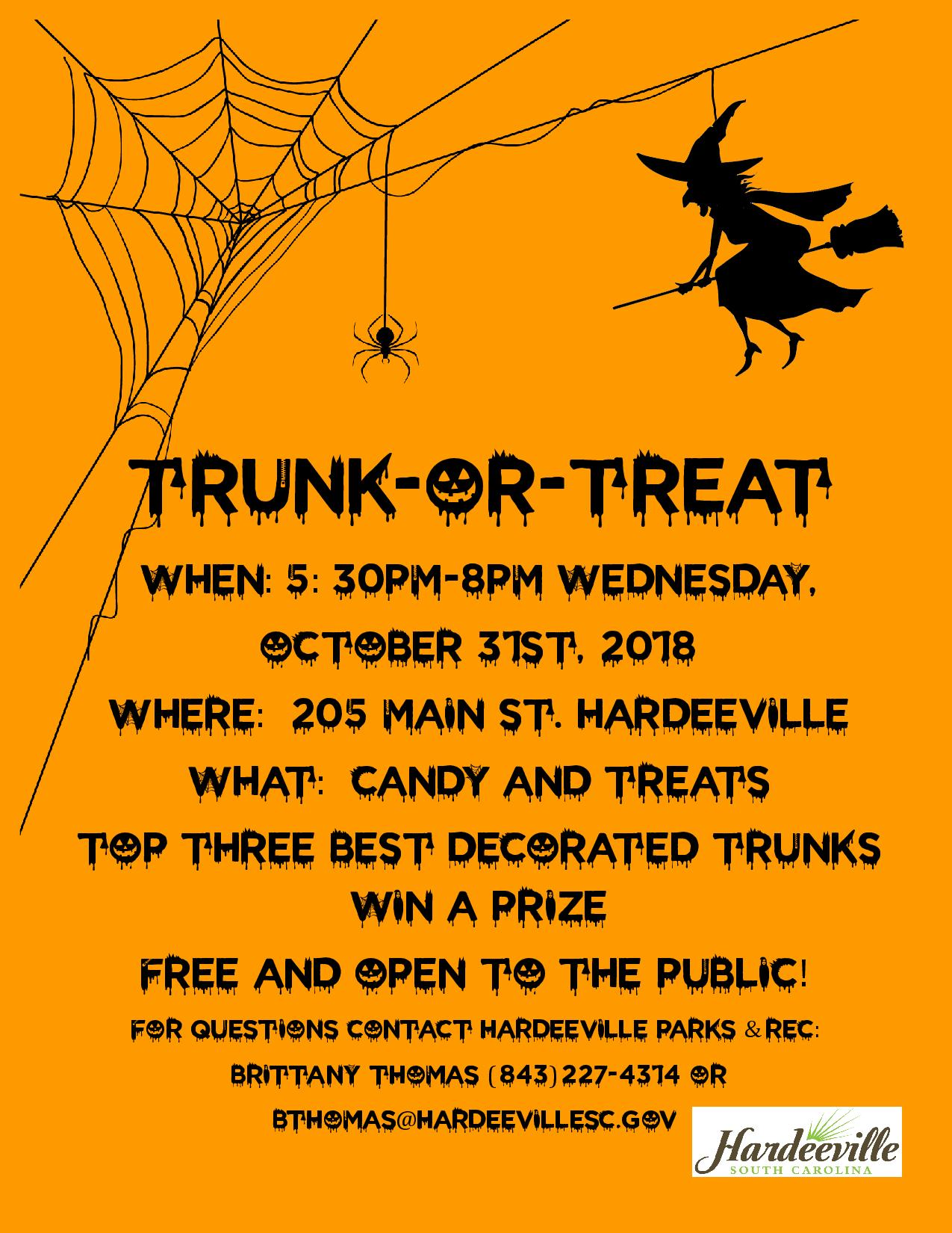 Trunk-or-Treat Flyer
